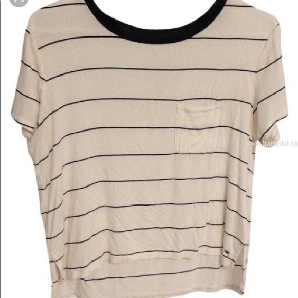 d65484df3 American Eagle Outfitters Tops | Ae Soft And Sexy Striped Tshirt ...
